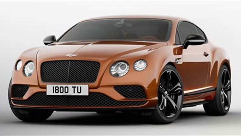 2016 Continental GT Speed Black Edition