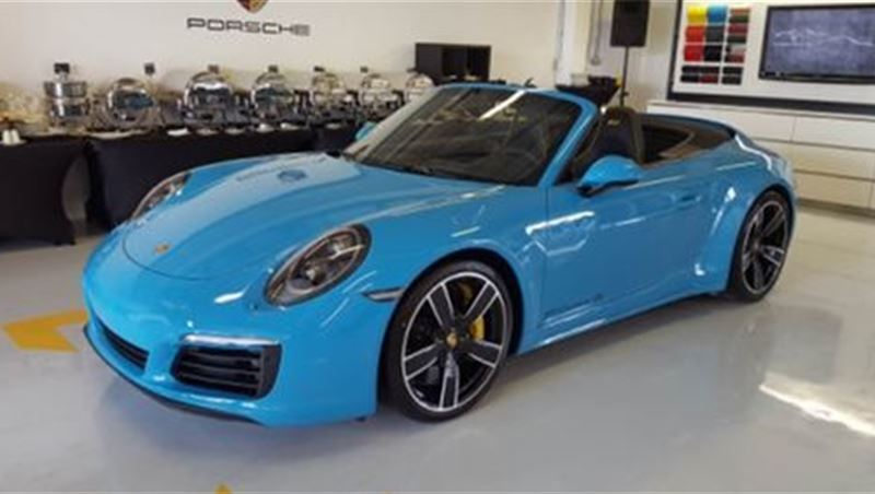 2017 Porsche 911 Carrera 4S Exclusive