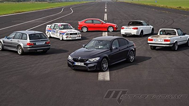 2016 Thirty Years of the BMW M3