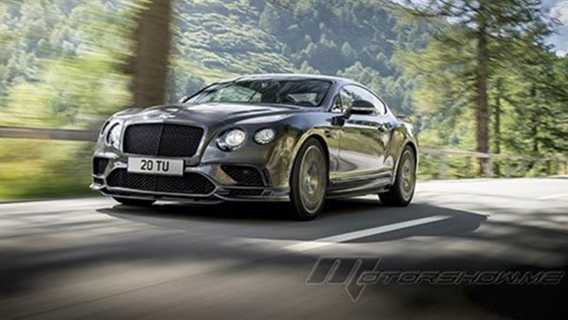 2017 Continental Supersports