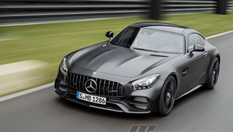 2018 Mercedes-AMG GT C Coupe Edition 50