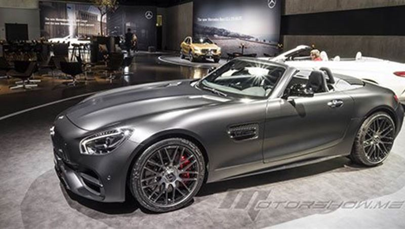 2018 Mercedes-AMG GT C Roadster Edition 50
