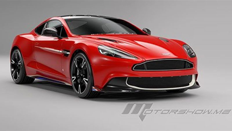 2017 Vanquish S Red Arrows Edition