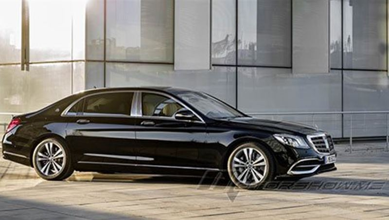 2017 Maybach S-Class Sedan
