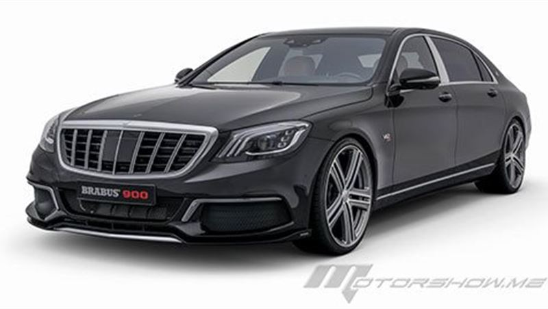 2018 Brabus 900 based on the Mercedes-Maybach S 650