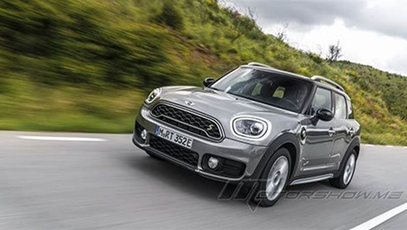 2018 Cooper S E Countryman ALL4