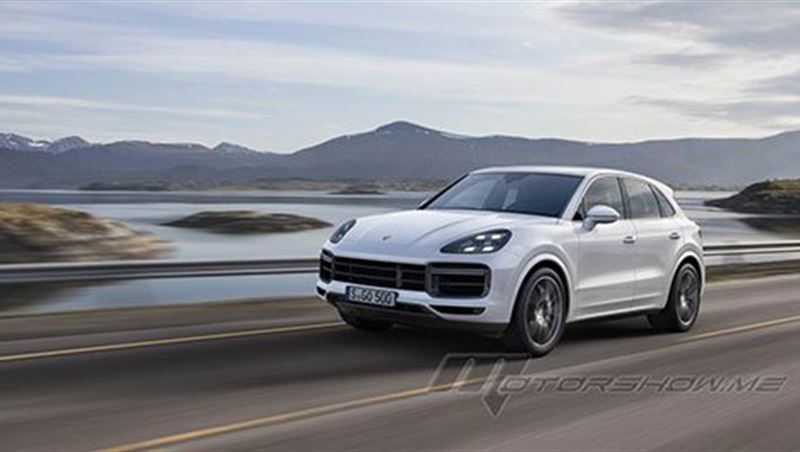 2019 Cayenne Turbo