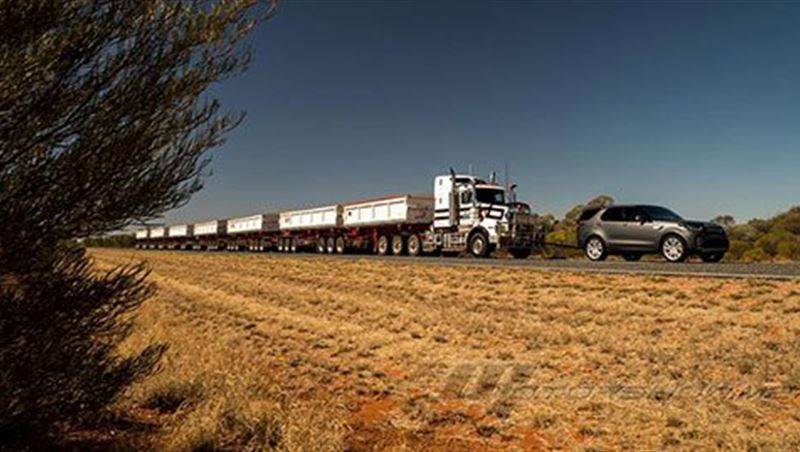 2018 Discovery Tows 121-Ton Road Train