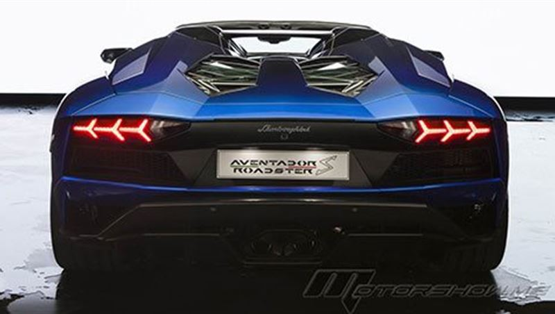 2018 Aventador S Roadster 50th Anniversary Japan