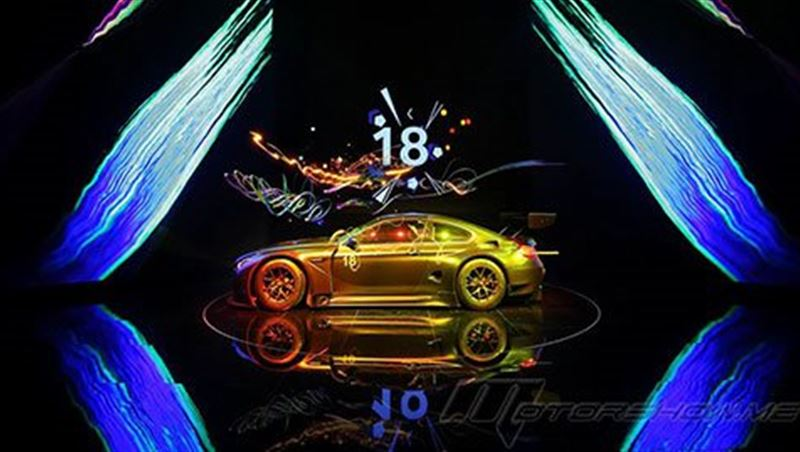 2017 M6 GT3 Art Car # 18 by Cao Fei
