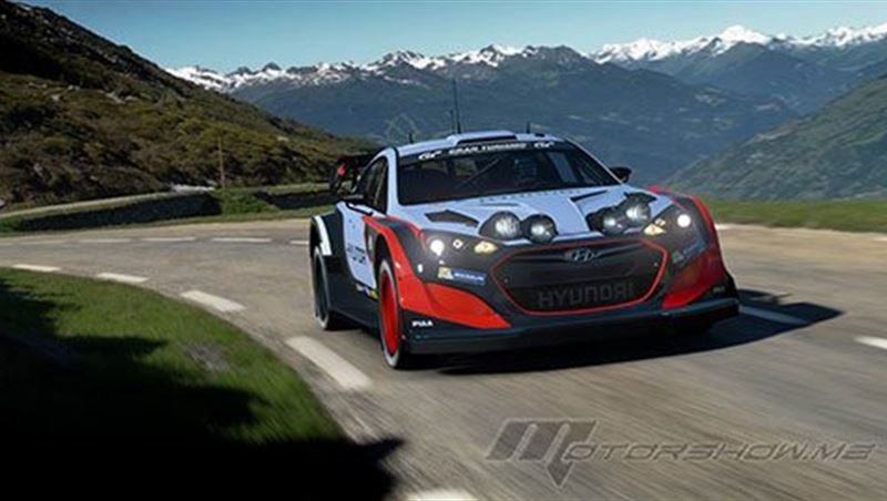 2018 Genesis Coupe Gr.B Rally Car (Group B Class)