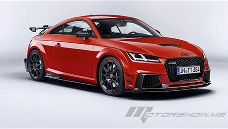 2018 TT RS with Audi Performance Parts