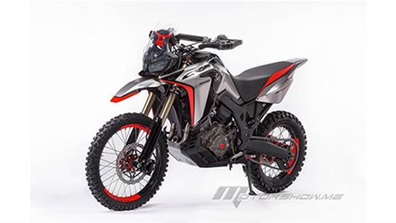2017 Africa Twin Enduro Sports Concept