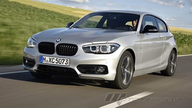 2017 BMW 120d and M140i 3-Door