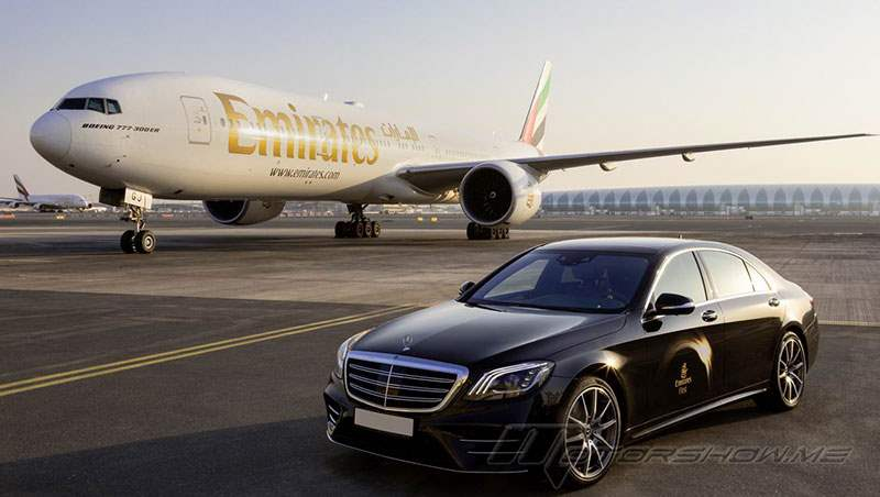 2017 Mercedes-Benz and Emirates Airline Cooperation