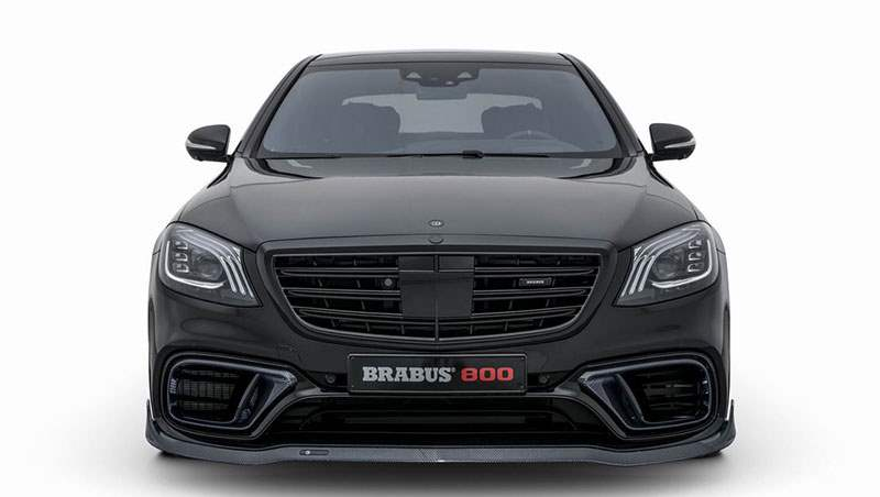 2018 Brabus 800 based on the Mercedes S 63 4MATIC+