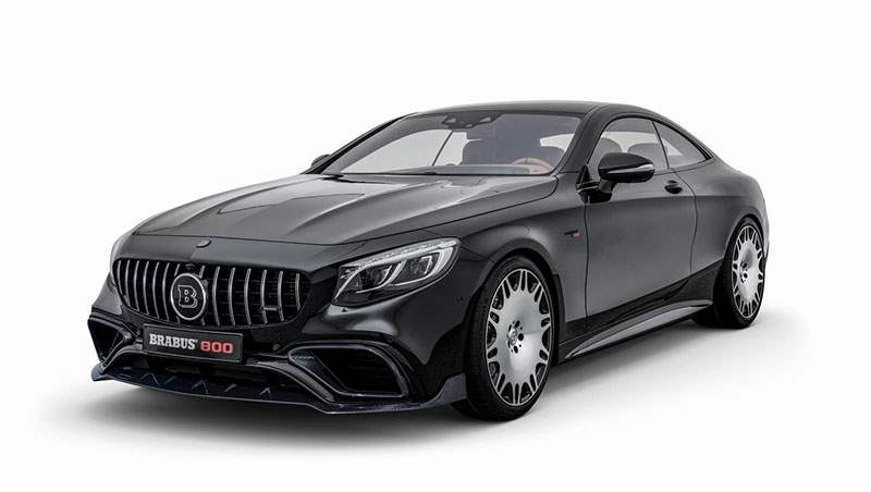 2018 Brabus 800 Coupe based on the Mercedes S 63 4MATIC+
