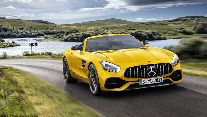 2018 AMG GT S Roadster