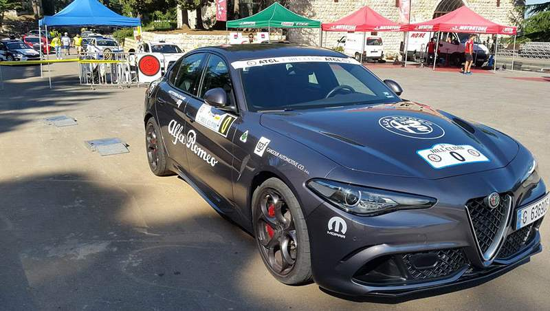 Nadim Mehanna Racing on Board the 2019 Alfa Romeo Giulia Q