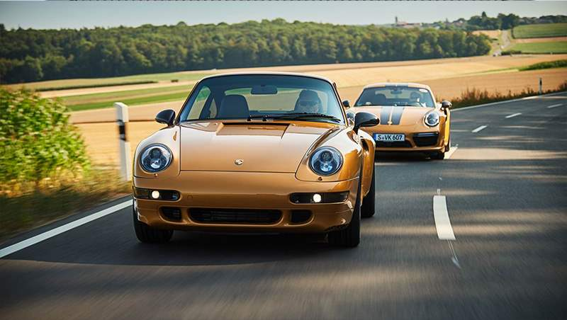 2019 Gold 911 Turbo Exclusive Series