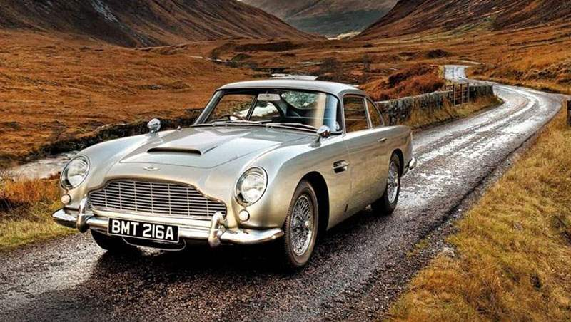 1964 Aston Martin Goldfinger DB5 Continuation