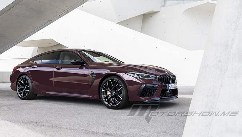 2020 M8 Gran Coupe and M8 Competition Gran Coupe