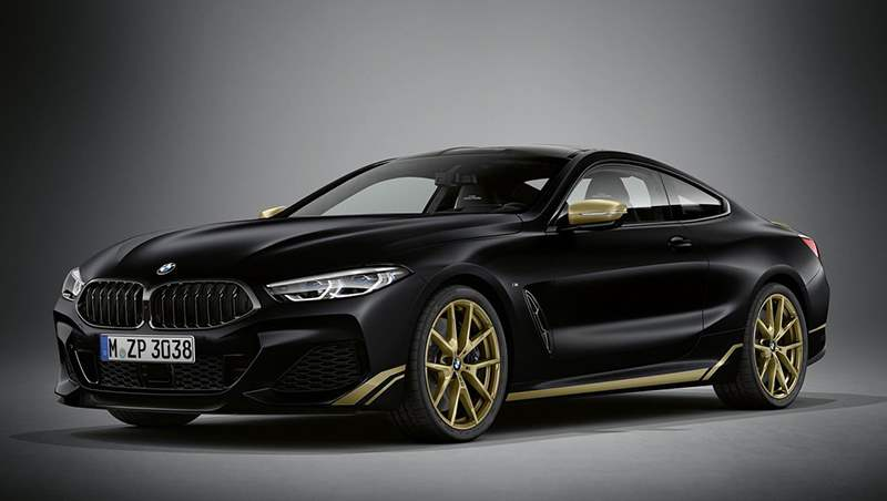 2021 BMW 8 Series Golden Thunder Edition