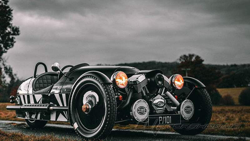 1952-2021 Morgan 3 Wheeler P101