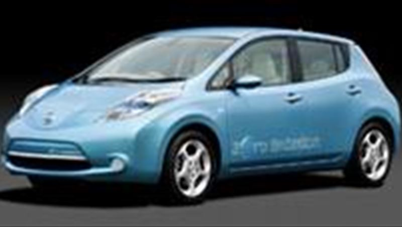 2010 Order books open for Nissan Leaf in Europe