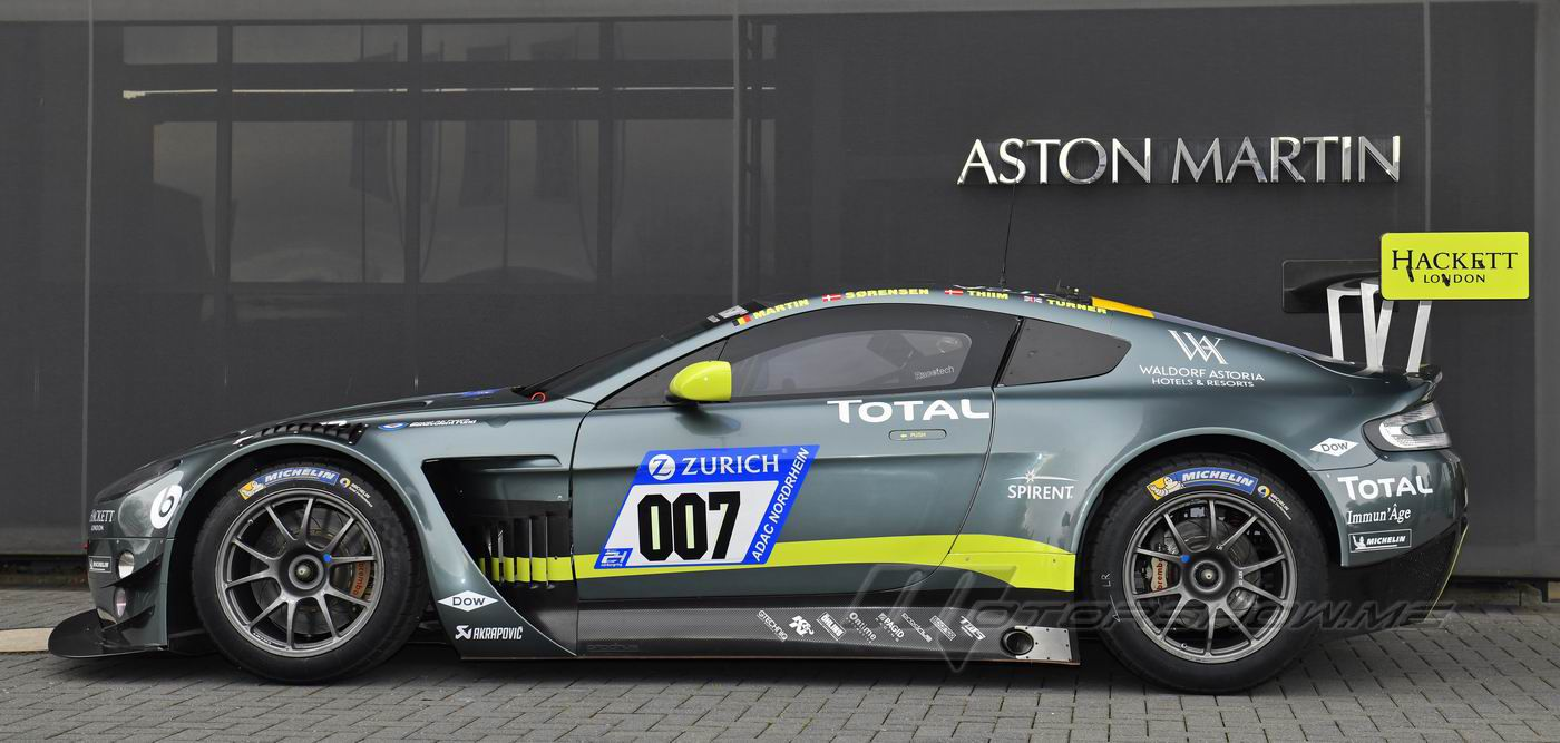 Photos By Motorshow Formula One And Formula E 2018 Aston Martin V12 Vantage Gt3