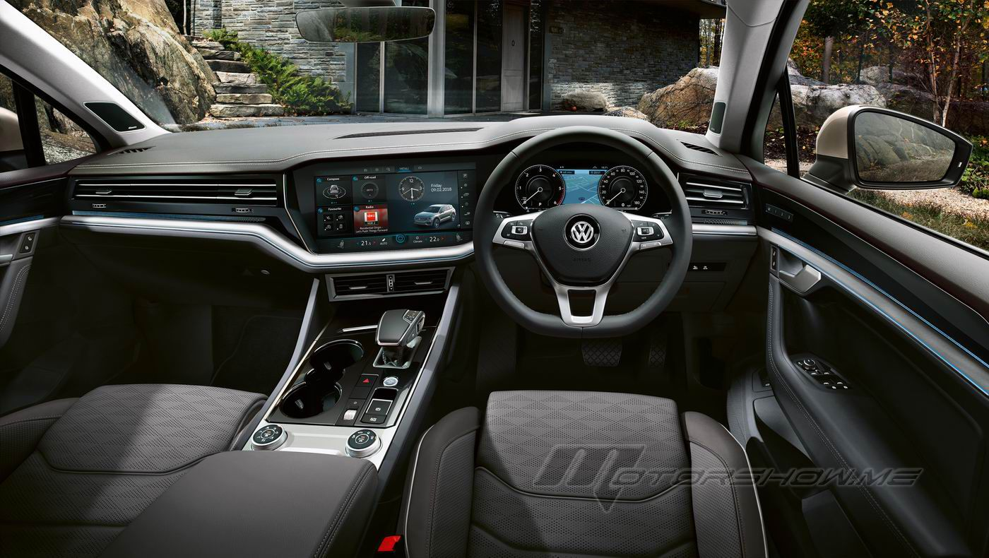 Photos By Motorshow Cars Volkswagen 2018 Touareg