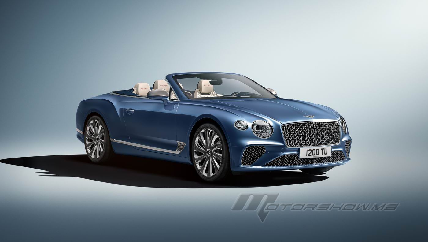Photos By Motorshow Cars Bentley 2021 Continental Gt Mulliner Convertible