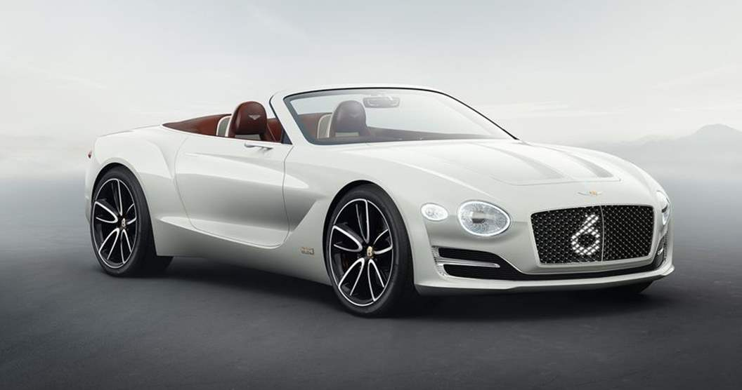 Bentley EXP 12 speed 6e 2018