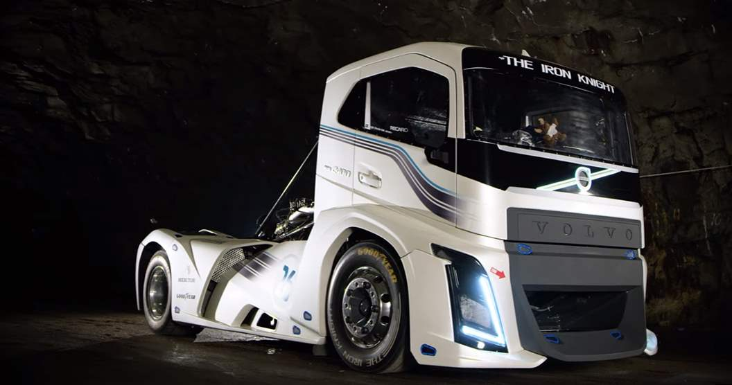 The world's Fastest Truck – The Volvo Iron Knight