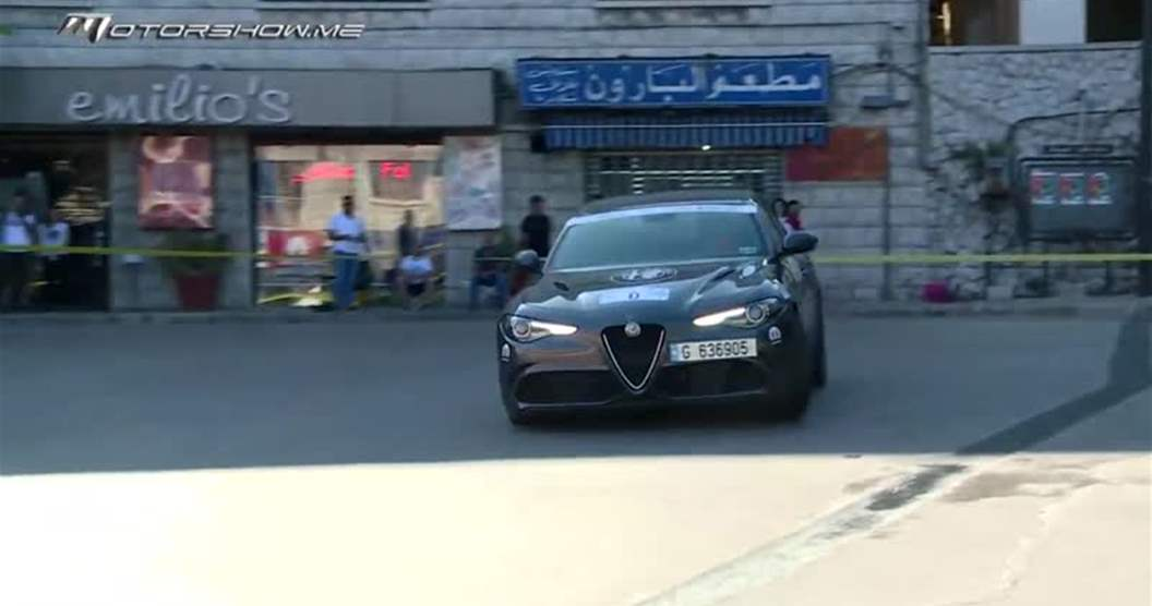 Nadim Mehanna Racing on Board the 2019 Alfa Rome Giulia Q in Bekfaya