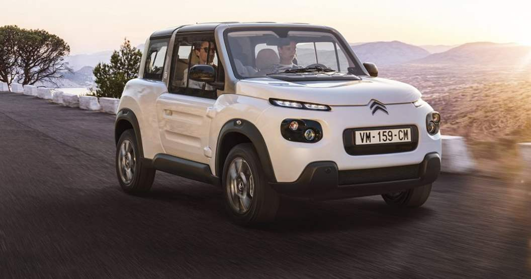 Citroen E-MEHARI Styled by Courrèges 2019