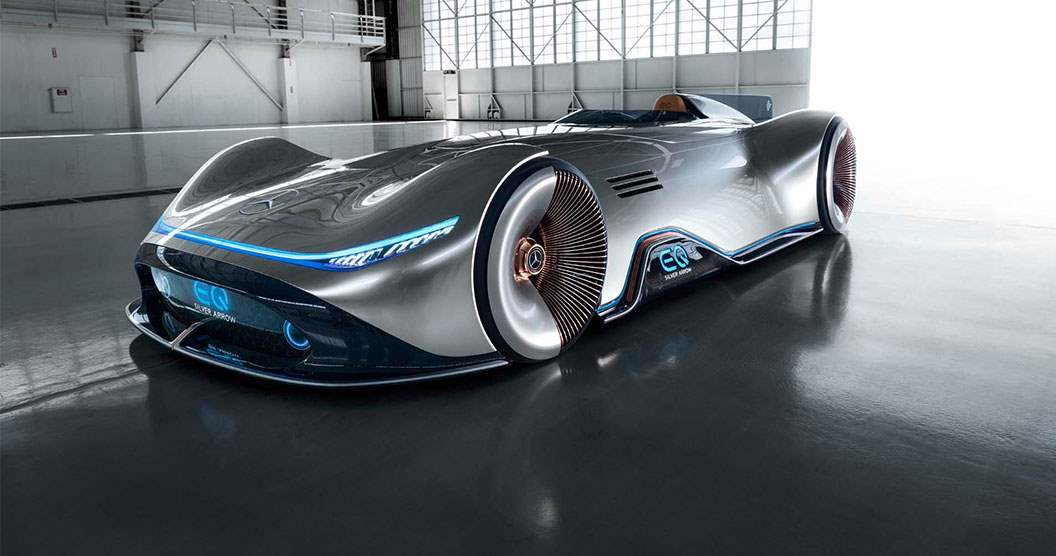 Mercedes-Benz EQ Silver Arrow Concept 2019