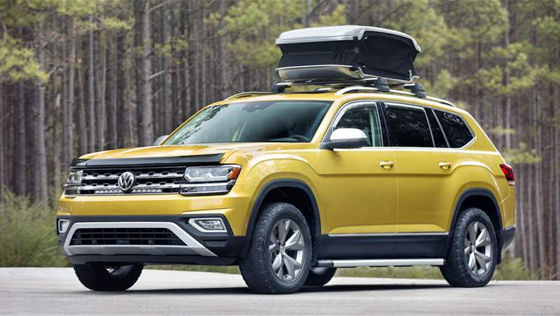 VW Atlas and Atlas Weekend Edition 2018