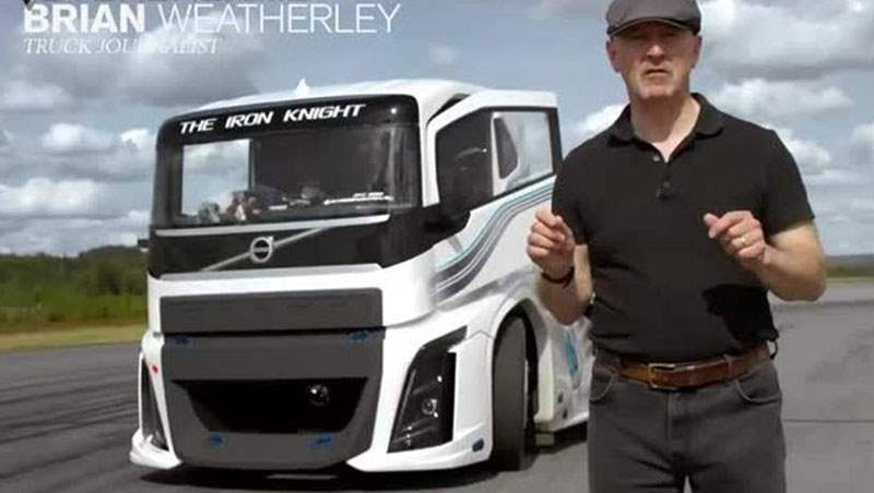 The world's Fastest Truck – The Volvo Iron Knight 2017