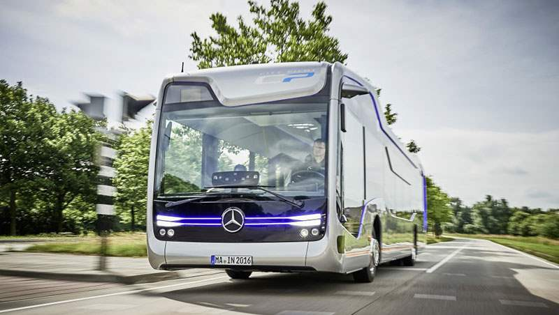 Mercedes Future Bus with CityPilot 2018