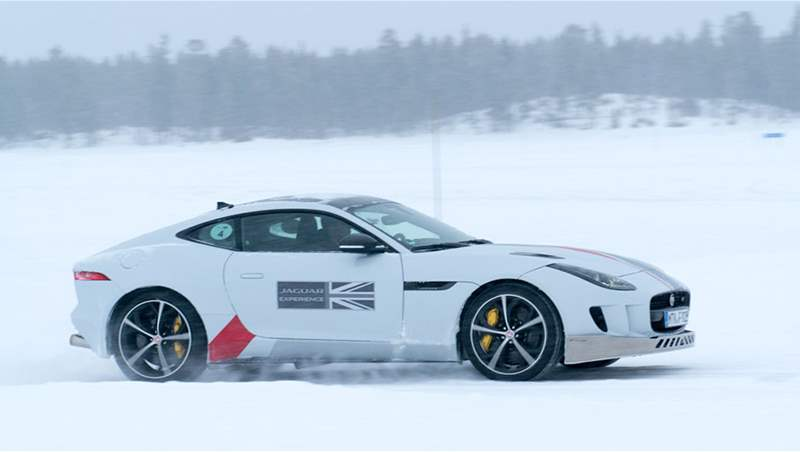 Jaguar Land Rover Ice Academy 2018