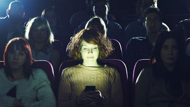 Don't Use Your Mobile Phones at the Movies