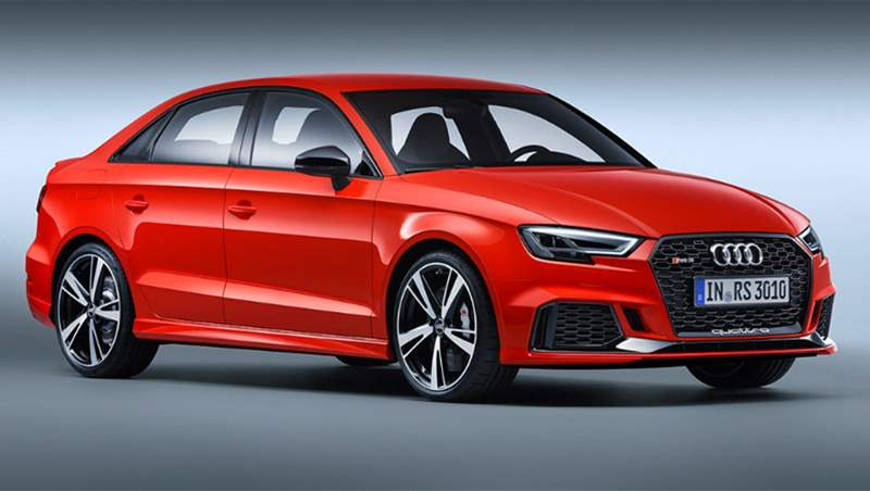 Audi RS 3 Sedan, Sportback, and LMS