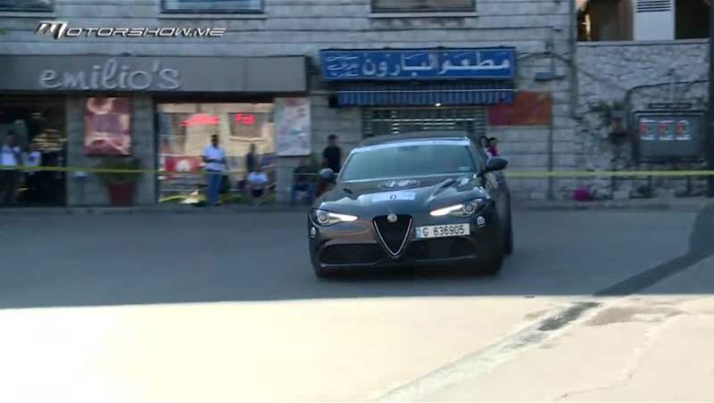Nadim Mehanna Racing on Board the 2019 Alfa Romeo Giulia Q in Bekfaya