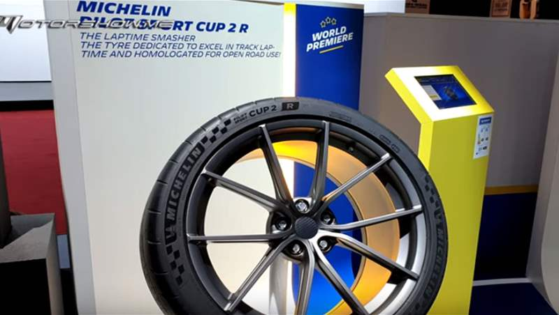 Michelin Stand at Geneva Motor Show 2019