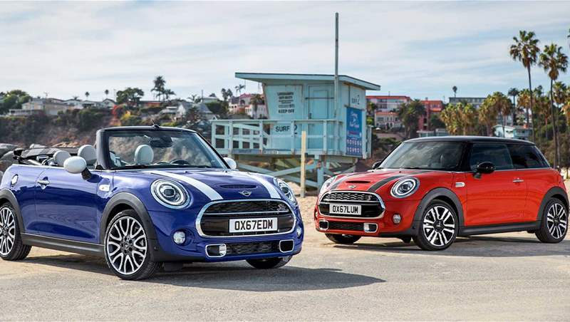 Mini Cooper S and Convertible