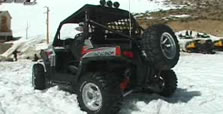Polaris Ranger RZR S800 and RZR170