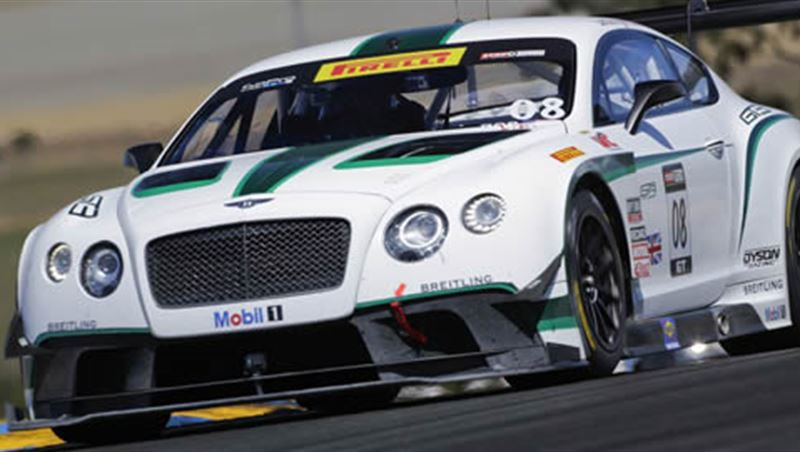 Bentley GT3 at Nurburgring 2014