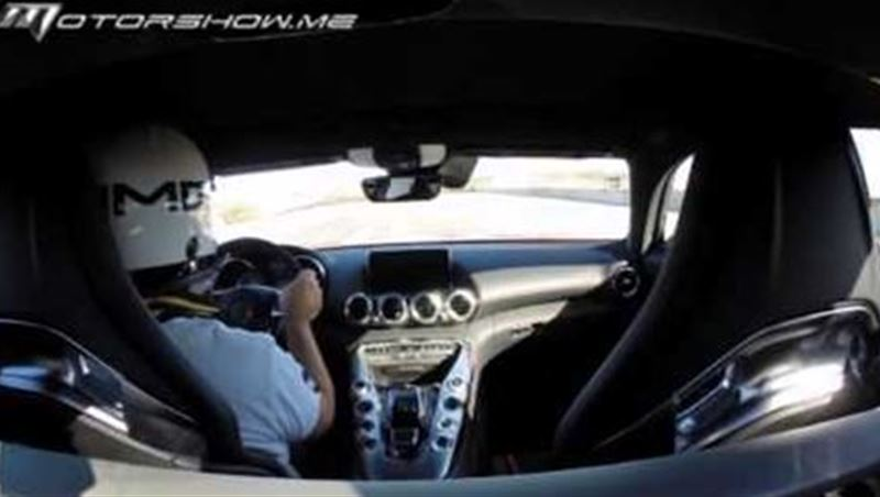 Mercedes AMG GTS 2016 One Lap at Laguna Seca