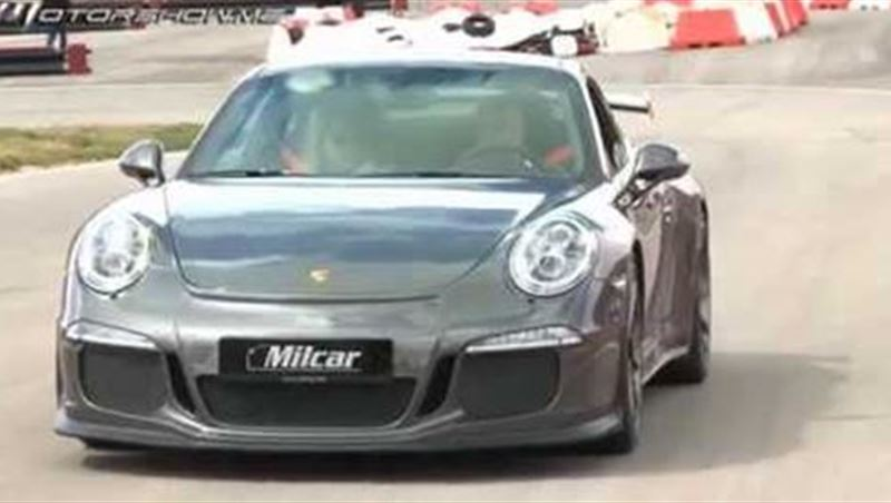 Porsche 911 GT3 2015 Accelerations and Sounds